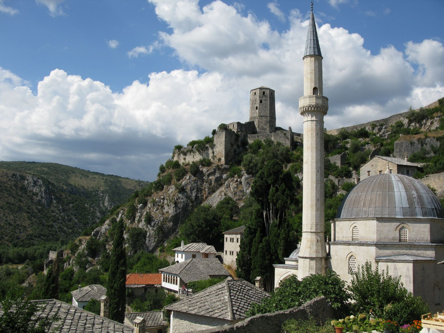 Městečko Počitelj a jeho odkaz Osmanské říše