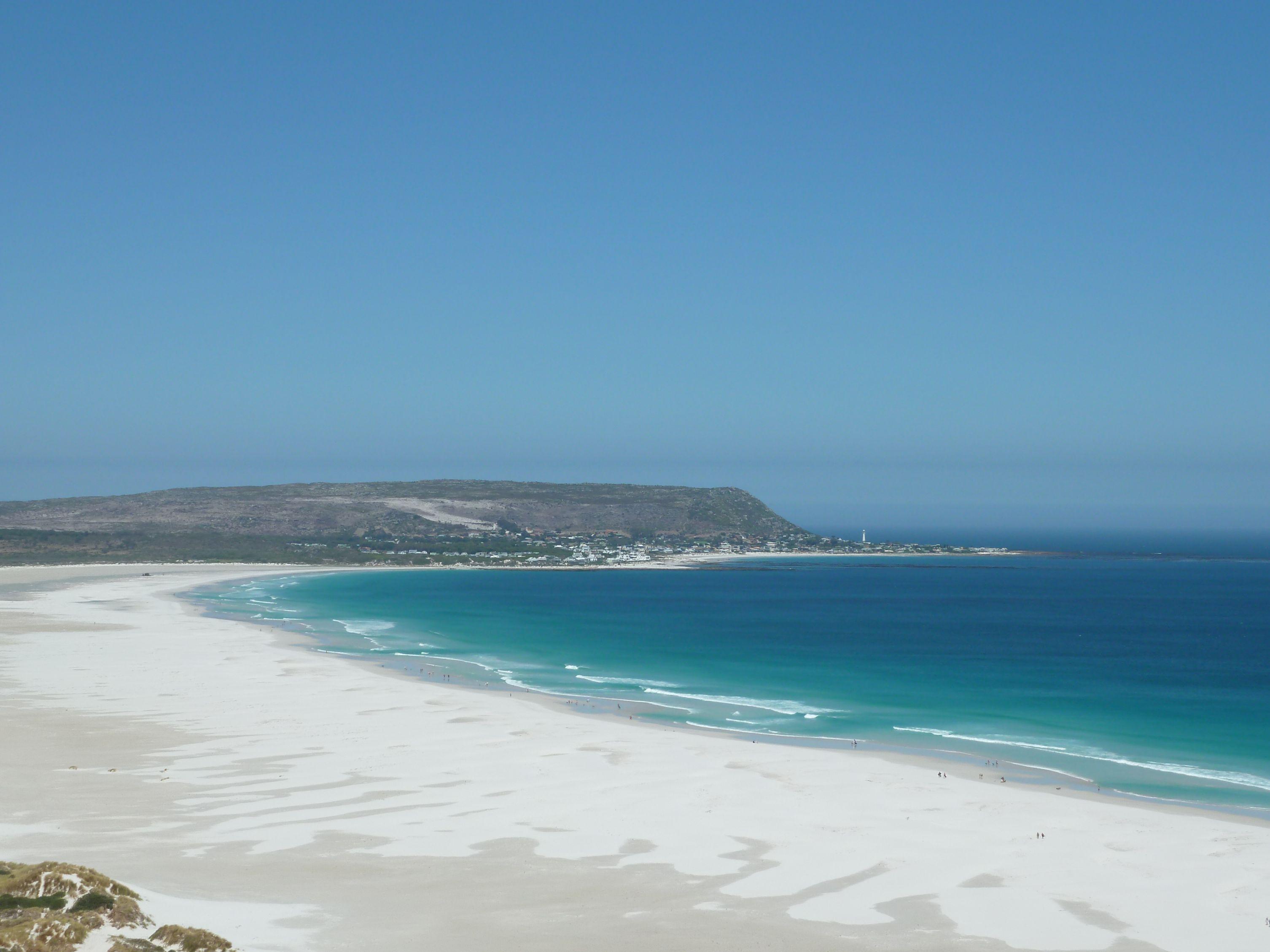 Bělostné pláže Kapského poloostrova
