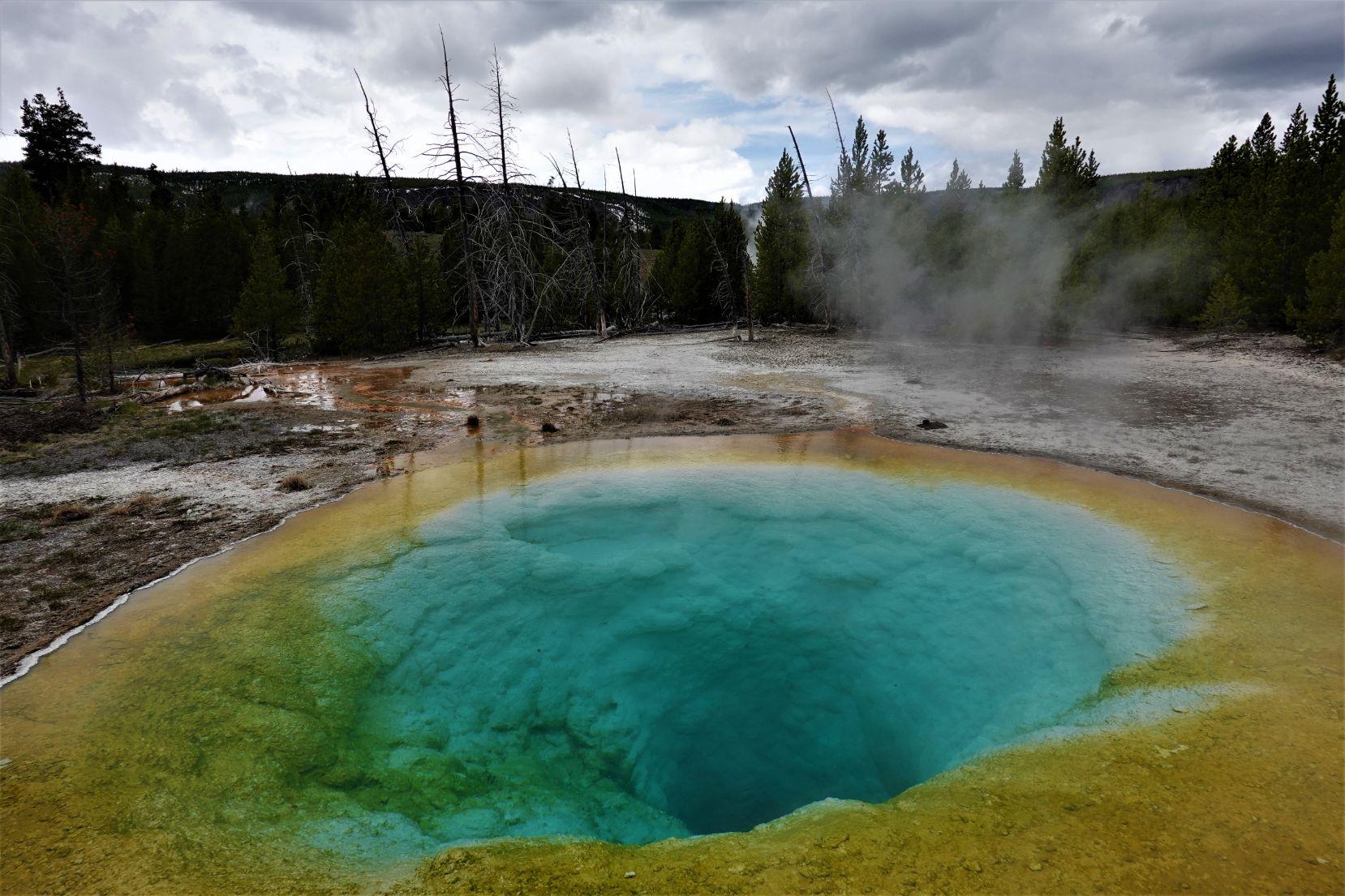 Fantastické barvy v NP Yellowstone