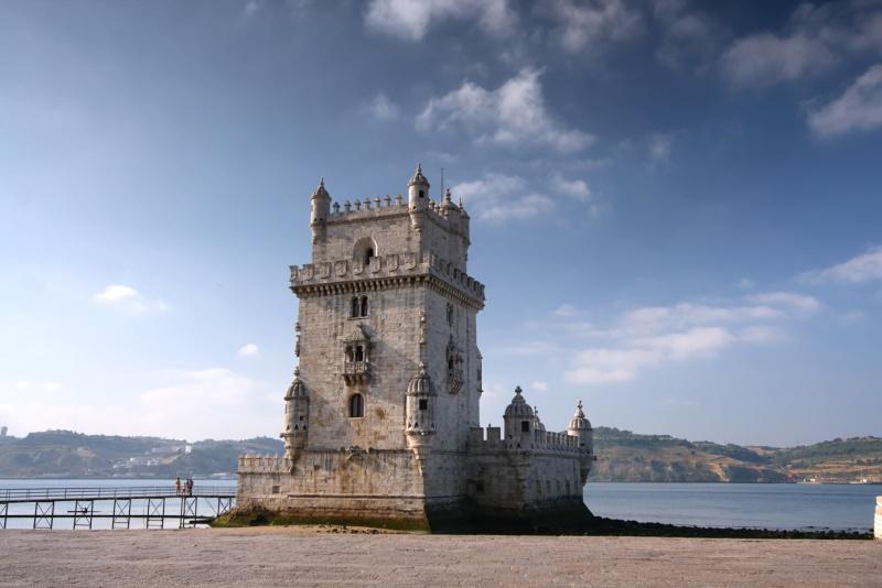 Lisabon, věž ve čtvrti Belém UNESCO