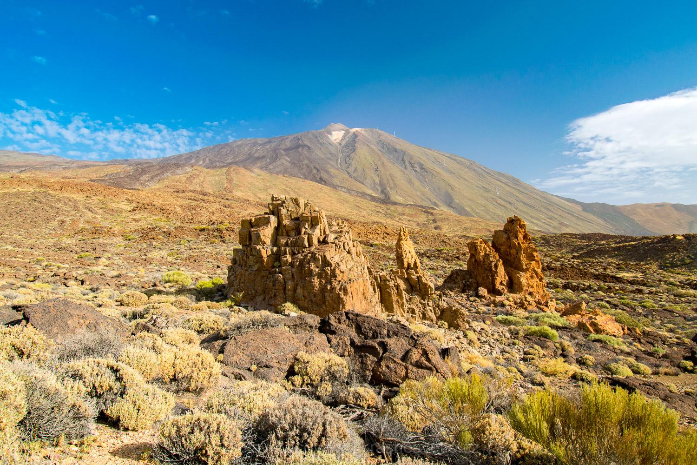Sopka Pico del Teide - nejvyšší bod nejen Tenerife, ale celého Španělska