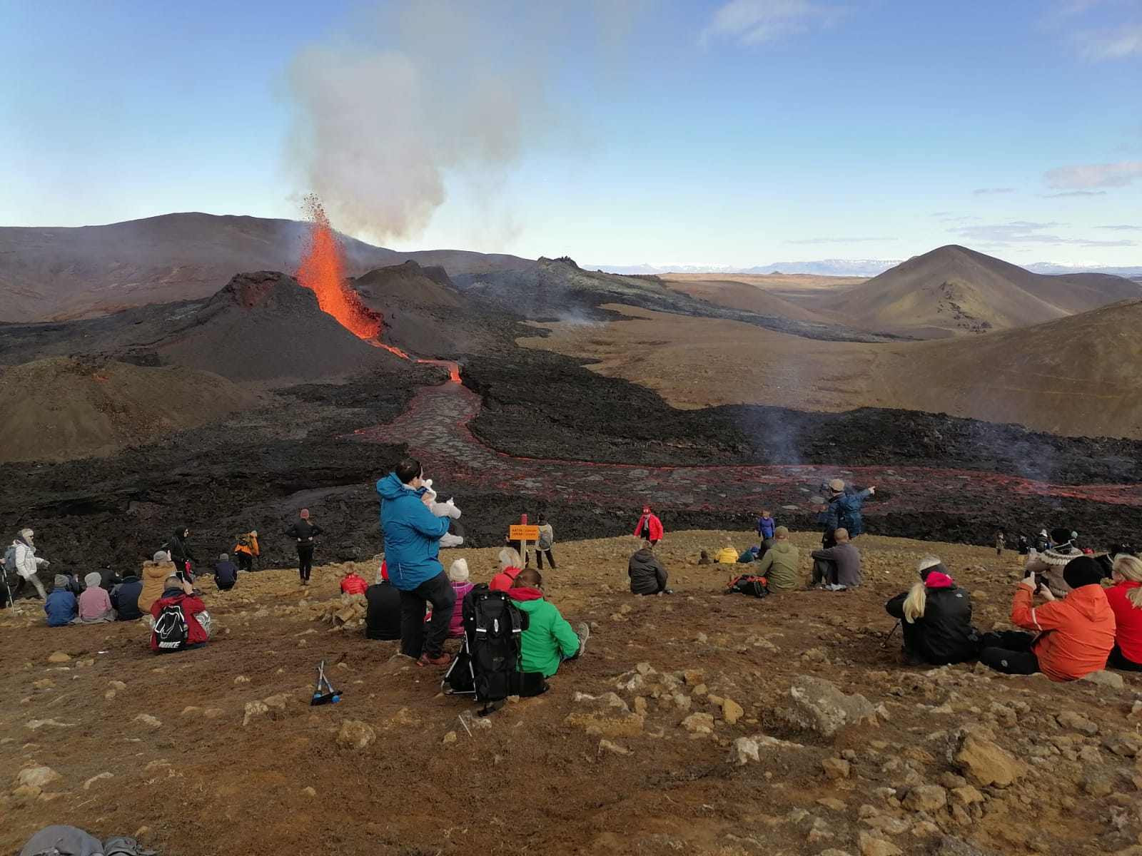Nedělní výlet na sopku, Island 2. 5. 2021