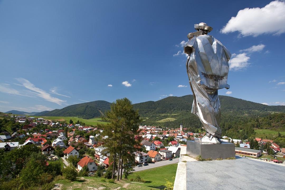 Terchová, rodné město slavného hrdiny Janošíka