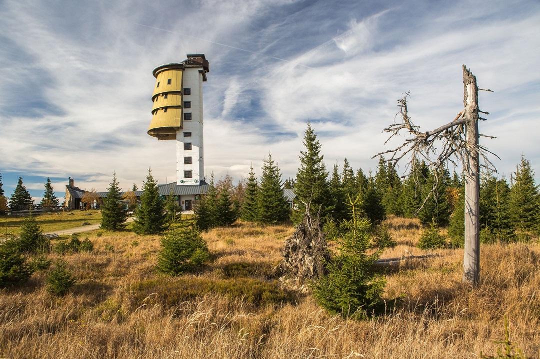 Rozhledna z bývalé strážní věže