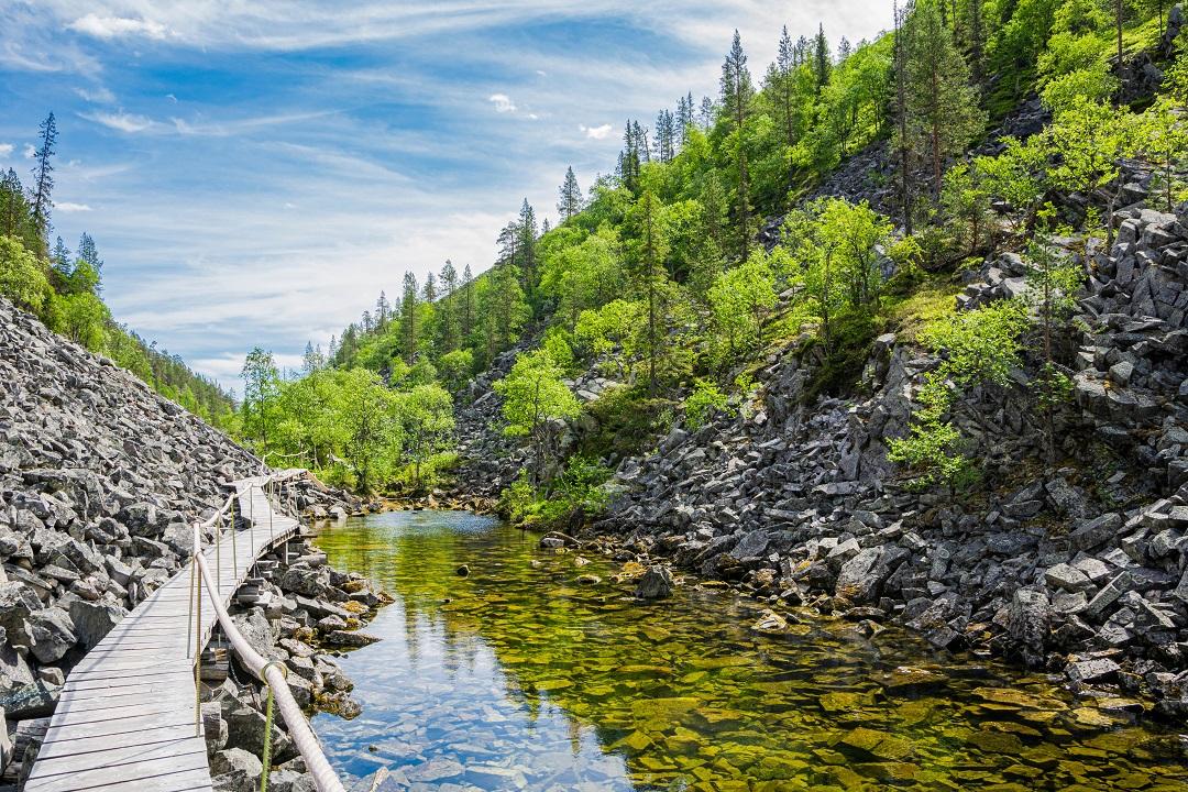 V národním parku Pyha-Luosto