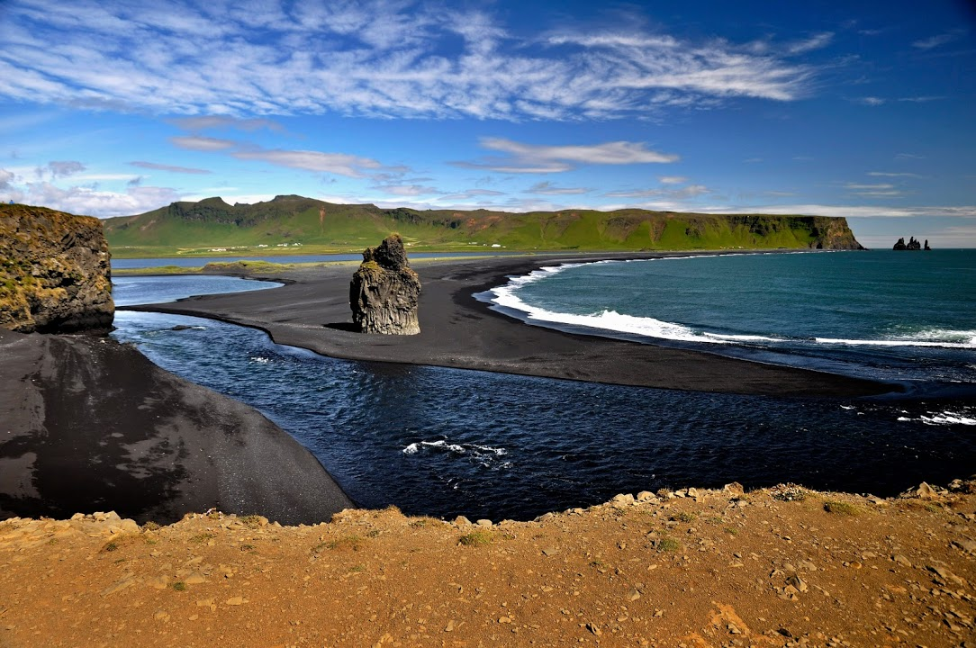 Vík- sopečná pláž