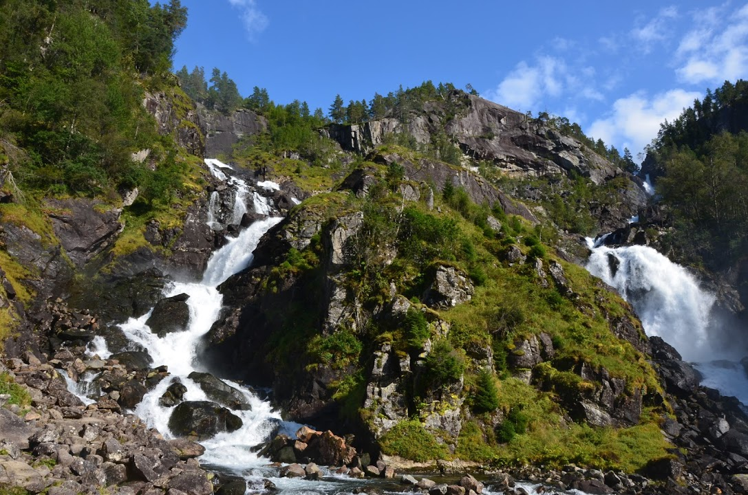 Vodopád Latefossen