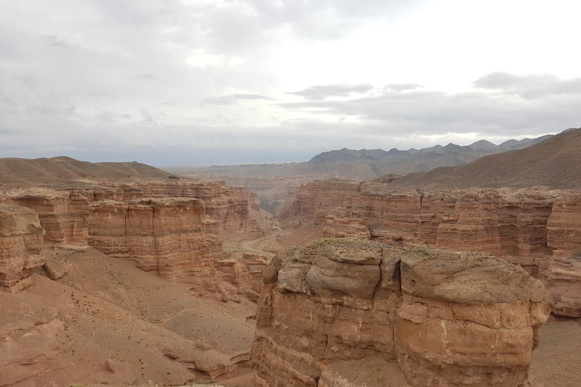 Charyn Canyon nedaleko Almaty