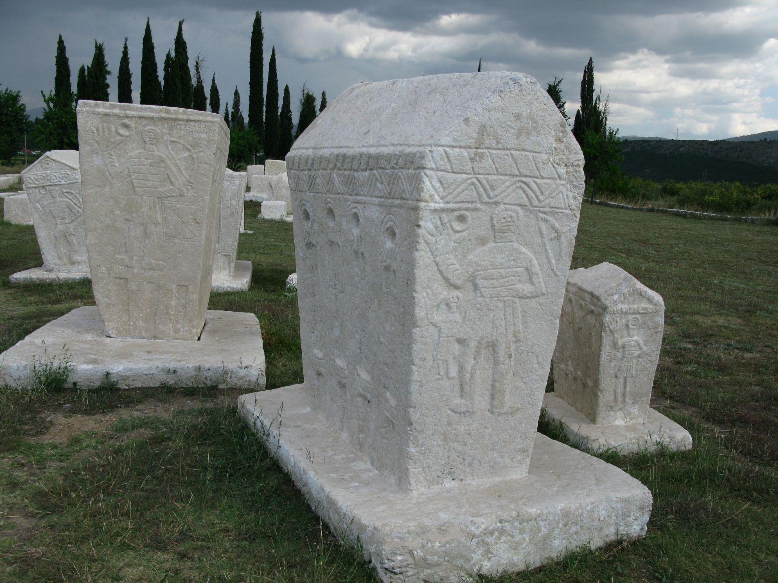 Nekropole Radimlja - pohřebiště křesťanské sekty bogomilů