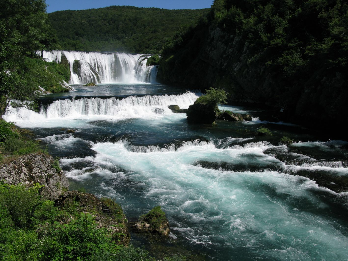Vodopády Štrbački Buk
