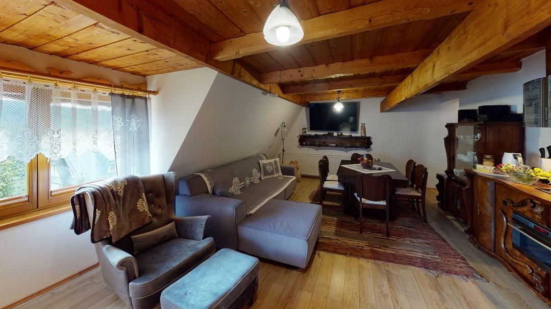 Willa Zima - obývací pokoj
