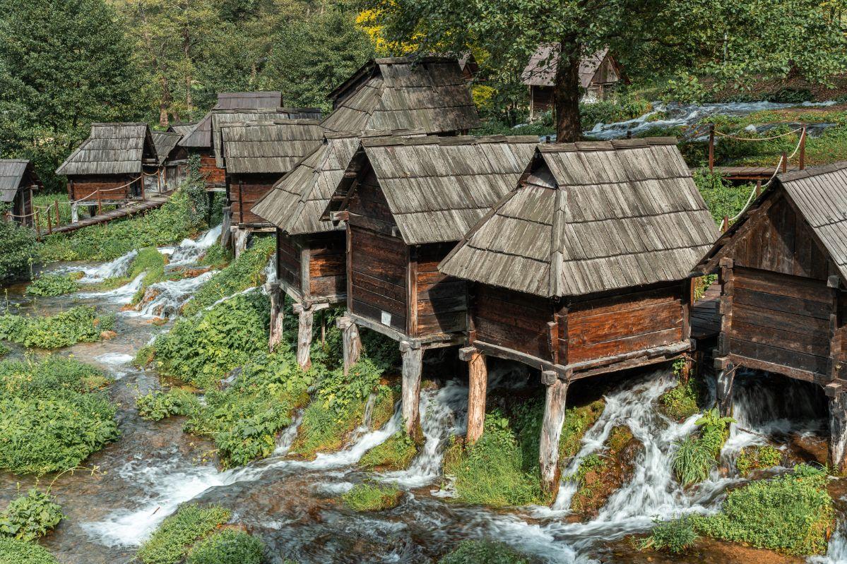Staré dřevěné mlýny Mlinčići