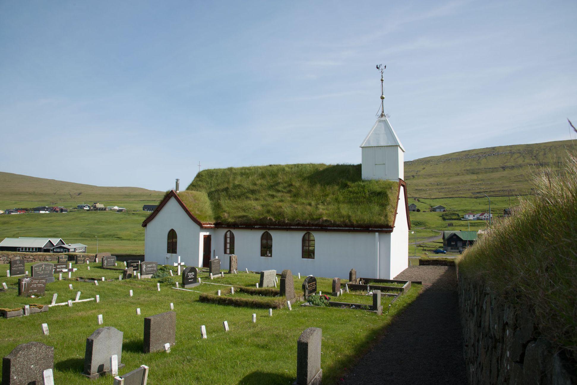Kostelík v Saksúnu