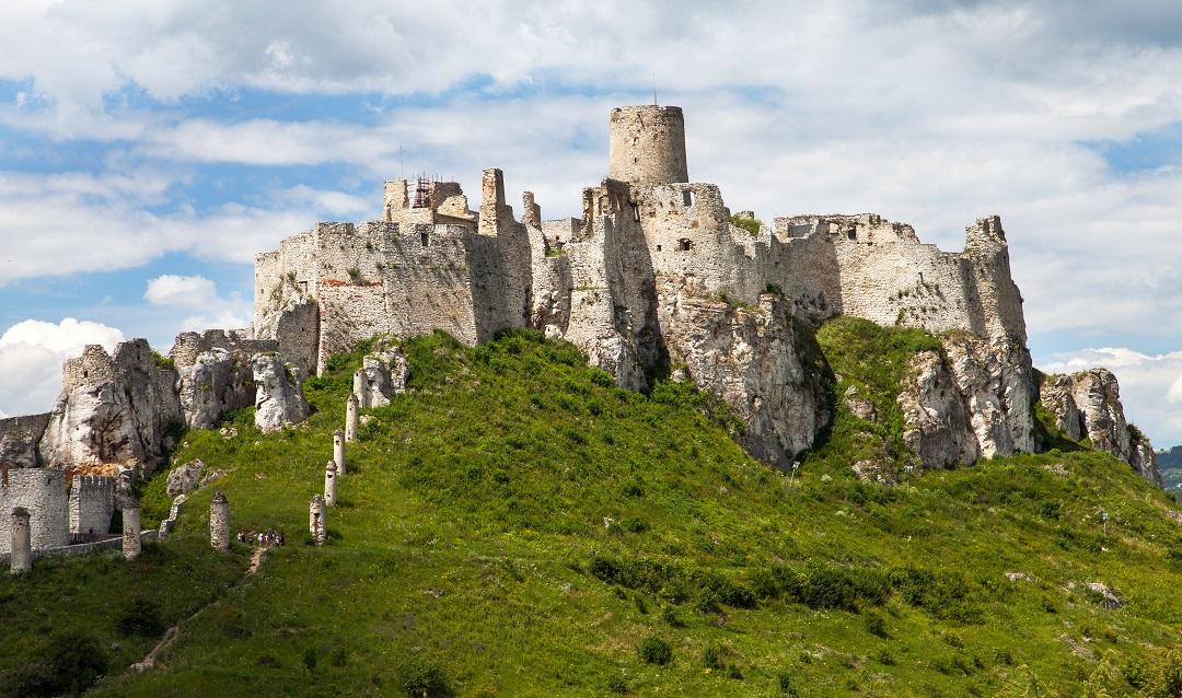 Spišský hrad - slovenský div zařazený na seznamu UNESCO