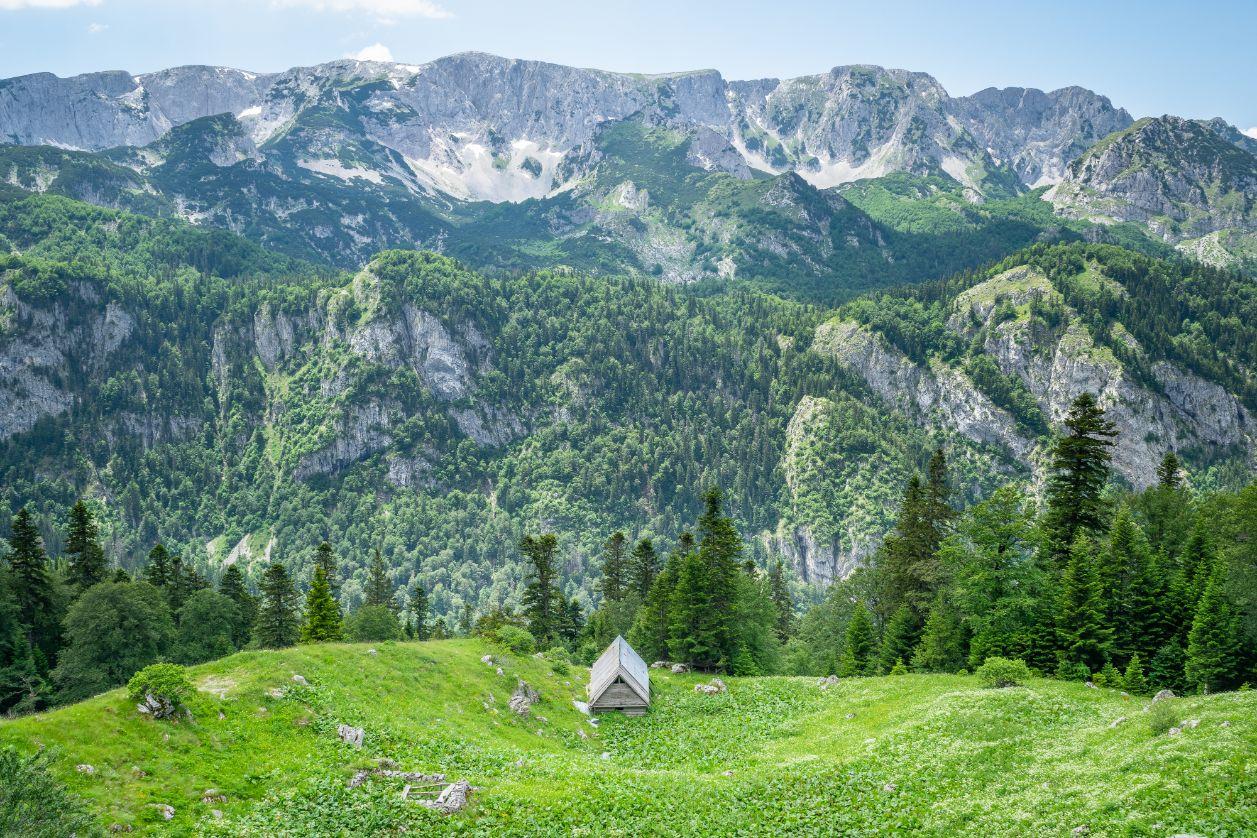NP Sutjeska je přírodním klenotem Bosny a Hercegoviny