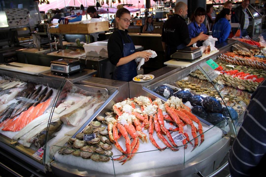 Bergen- rybí trh
