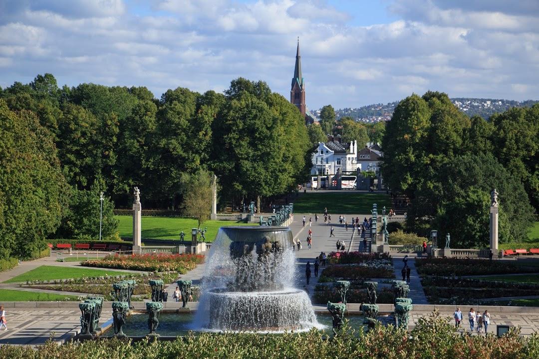 Oslo- Frogner park