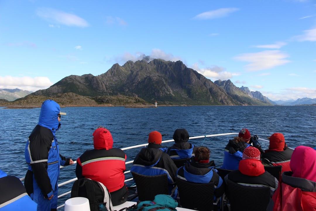 Plavba po fjordu