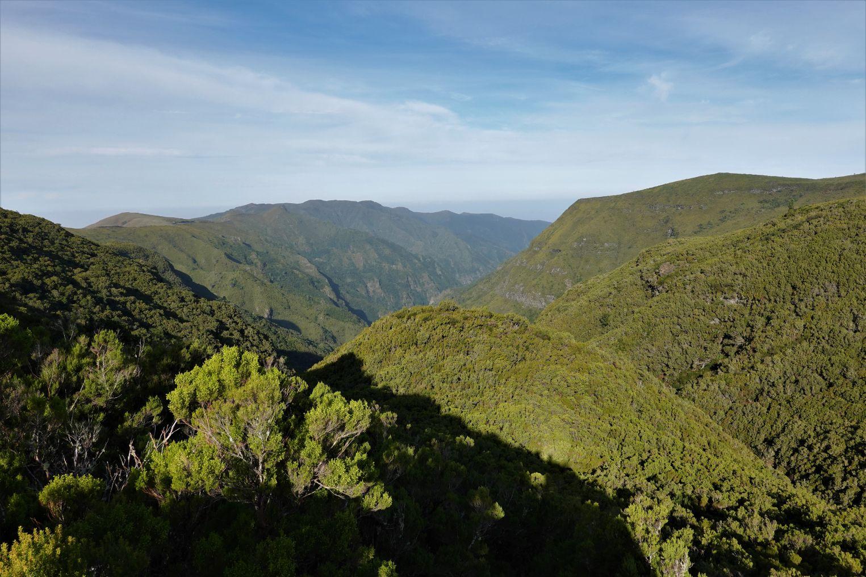Rabacal a výhledy do nekonečné zeleně madeirského vnitrozemí