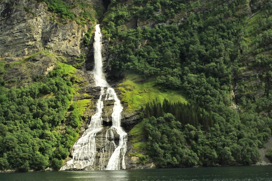 Geairangerfjord- vodopád Nápadník