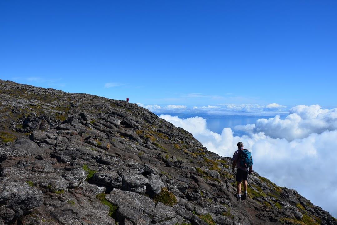 Výstup na vrchol sopky Ponta do Pico