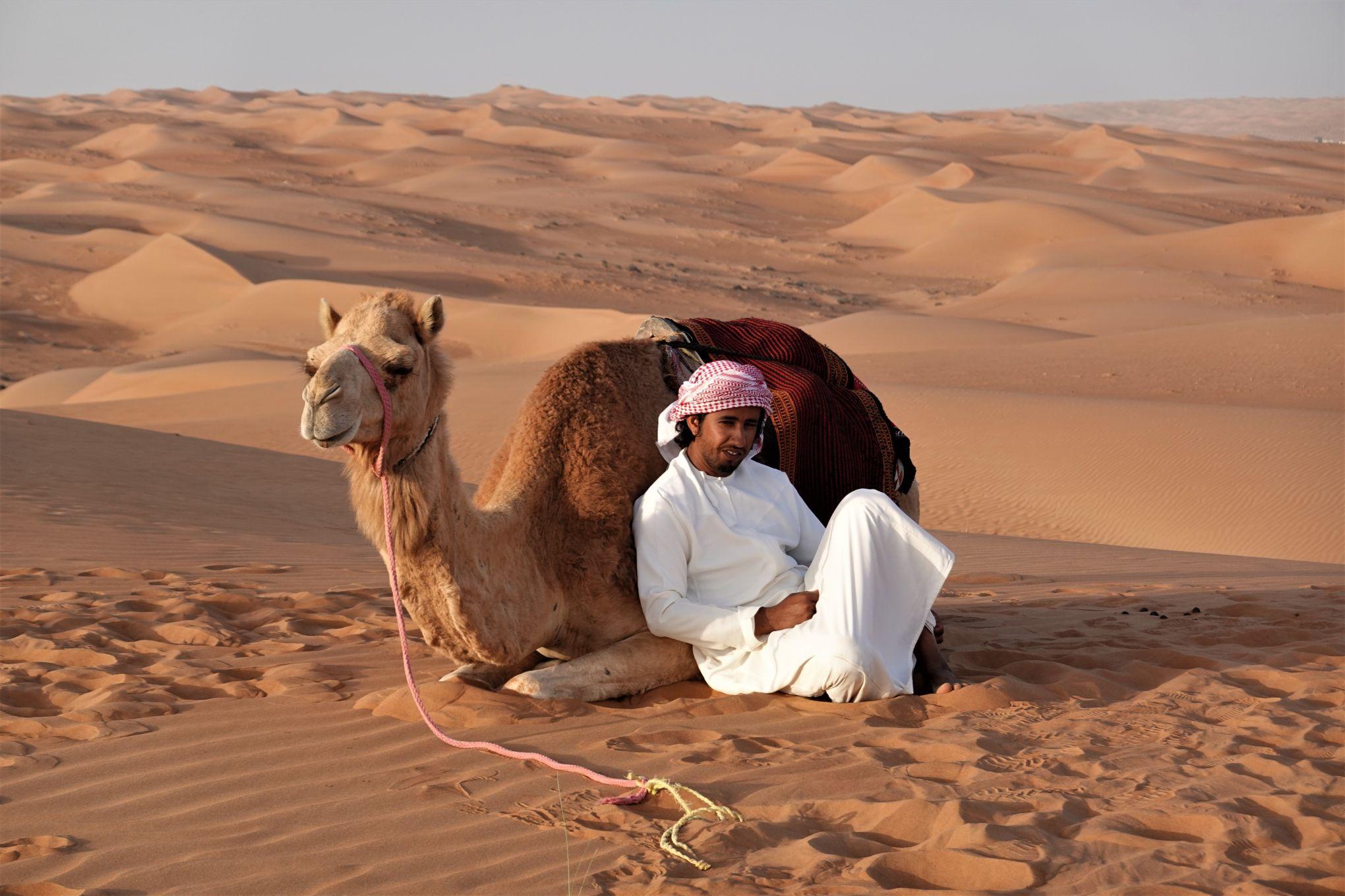Pouštní život v Ománu