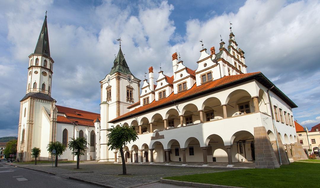 Kostel svatého Jakuba v Levoči UNESCOje druhou největší sakrální stavbou na Slovensku