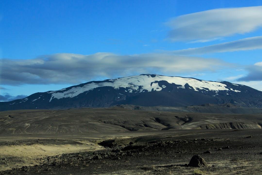 Stratovulkán Hekla