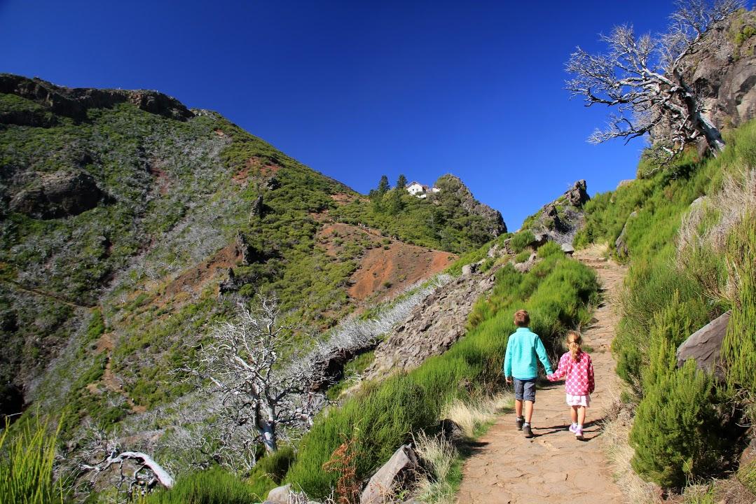 Vyhlídková cesta z Achada do Teixeira