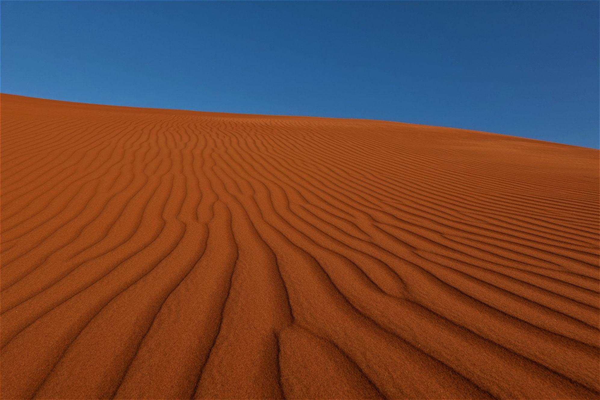 Struktury pouště Wahiba Sands