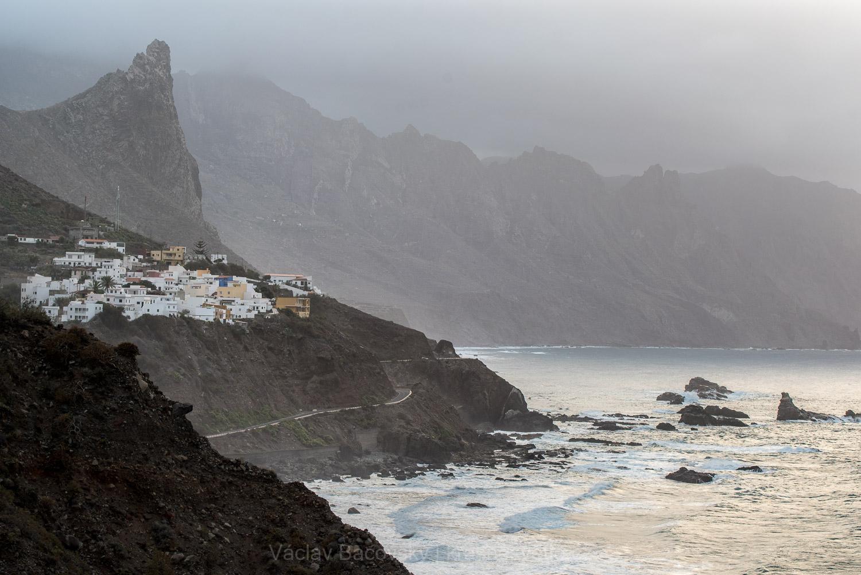 Divoké severní pobřeží Tenerife