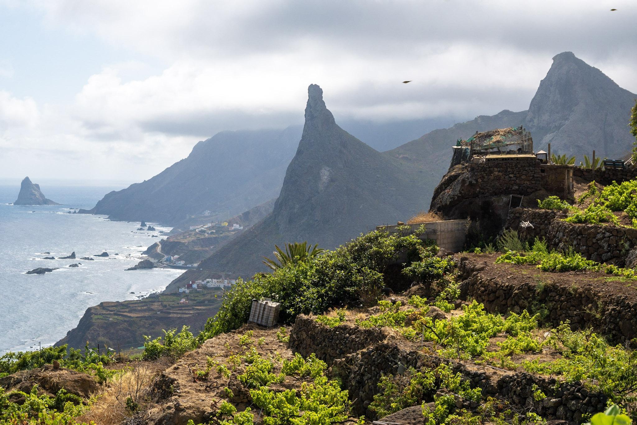 Severovýchod ostrova Tenerife a pohoří Anaga