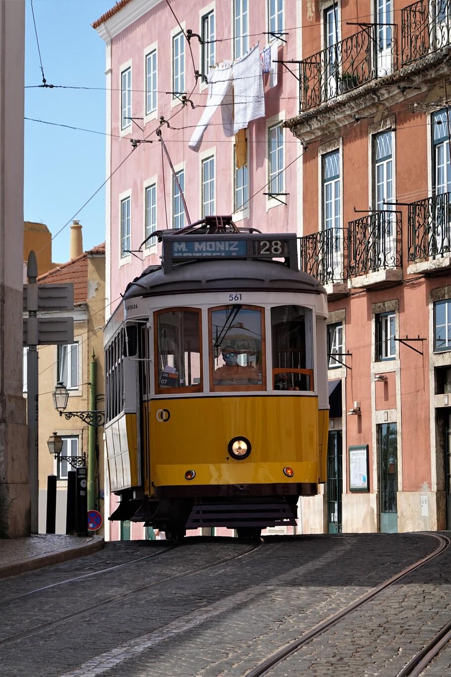 Lisabonské tramvaje dotvářejí atmosféru města