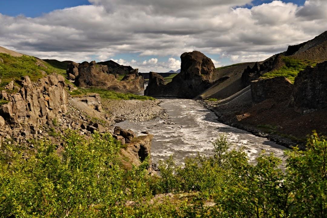 Kaňon řeky Jökulsá á Fjöllum