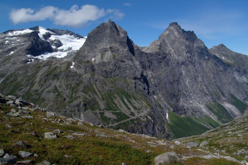 Trollí stezka a hory Biskup a Král