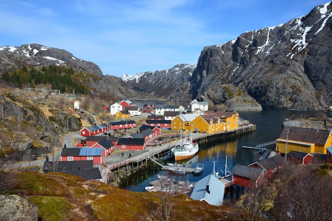 Rybářská vesnice Nusfjord je památkou UNESCO
