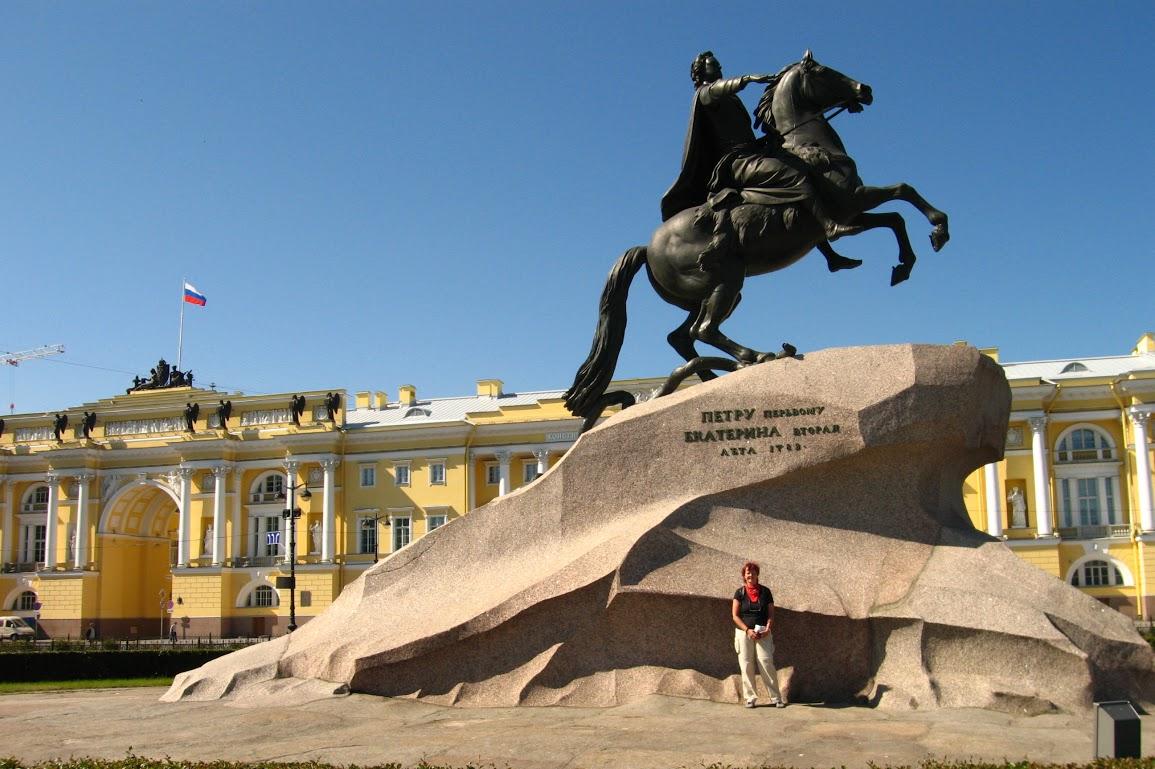 Památník Petra Velikého v Petrohradu