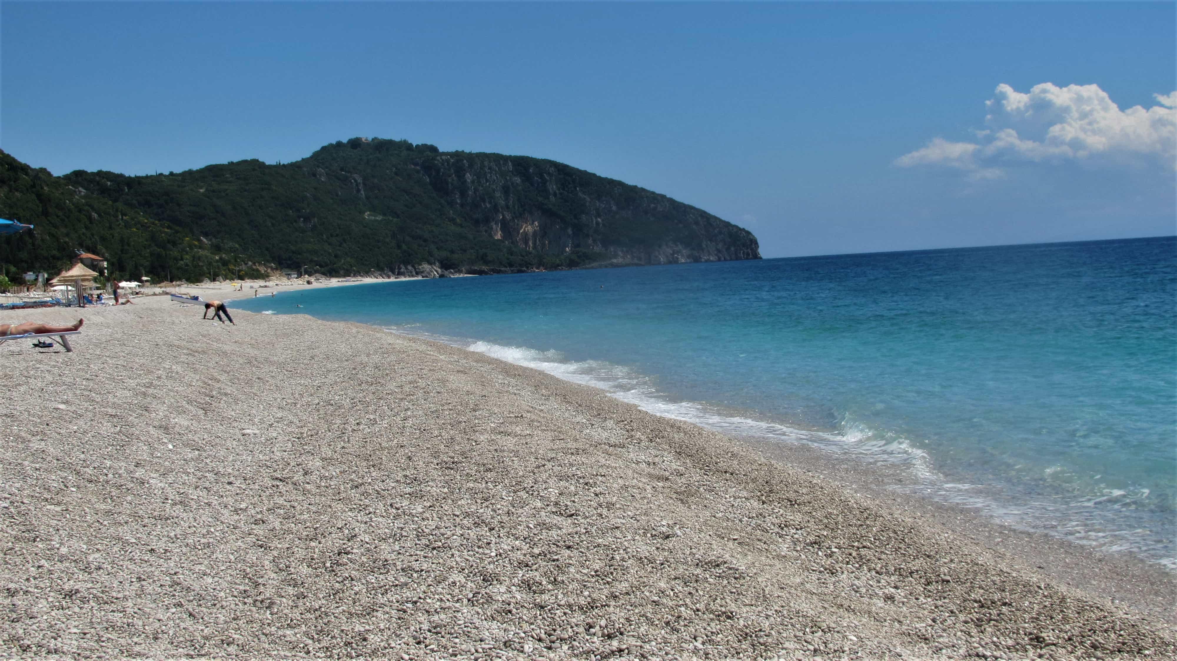 Albánské pláže