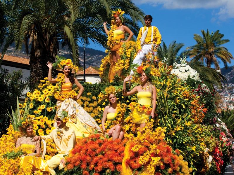 Alegorický vůz na Květinových slavnostech, Funchal