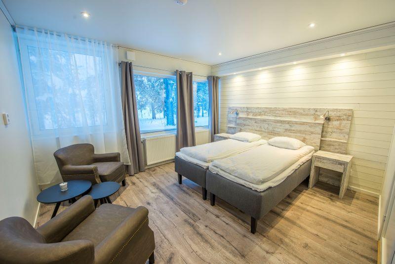 Aurora Mountain Resort, dvoulůžkový pokoj