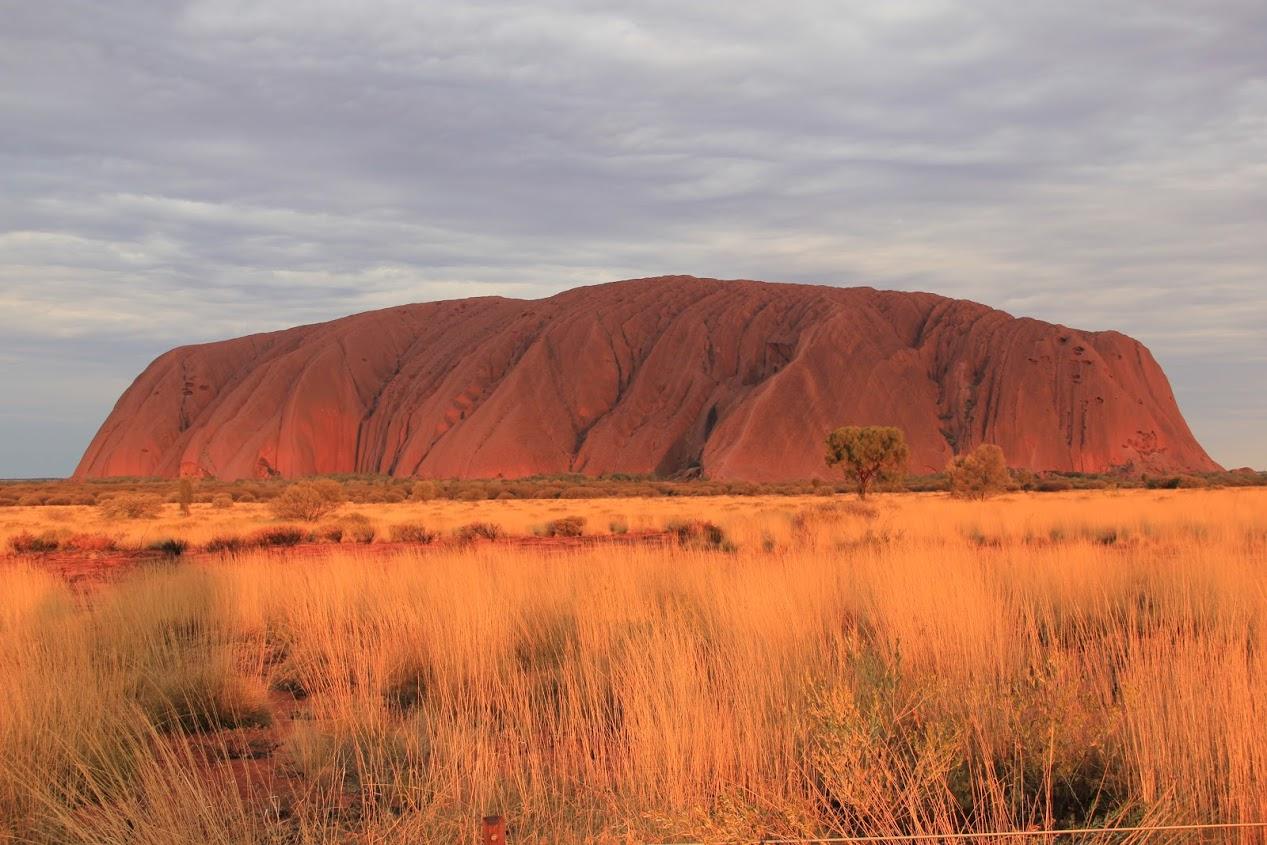Posvátná oblast Ayers Rock neboli Uluru
