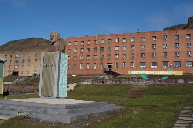 Busta Lenina v Barentsburgu