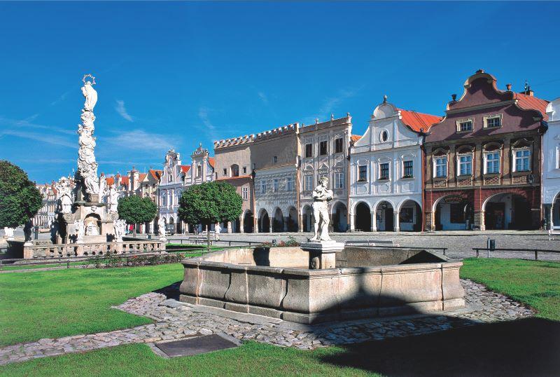Telč - české UNESCO památky jsou opravdu krásné