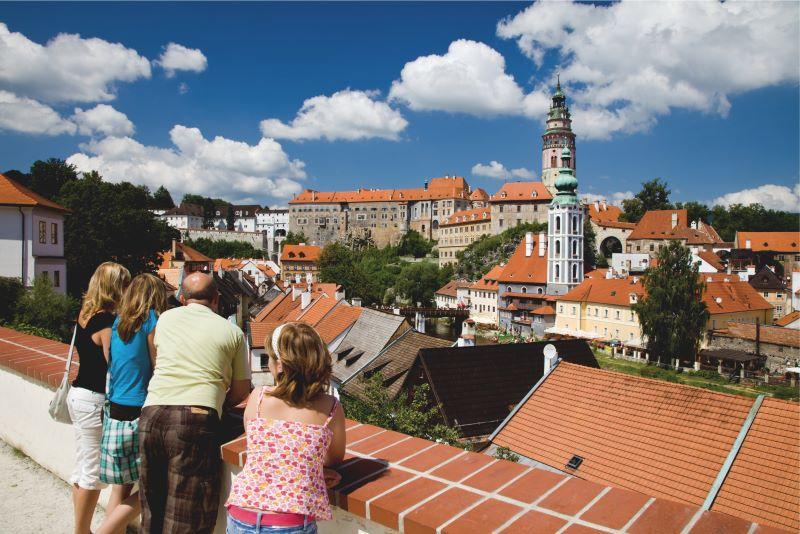 Český Krumlov - české UNESCO památky jsou opravdu krásné