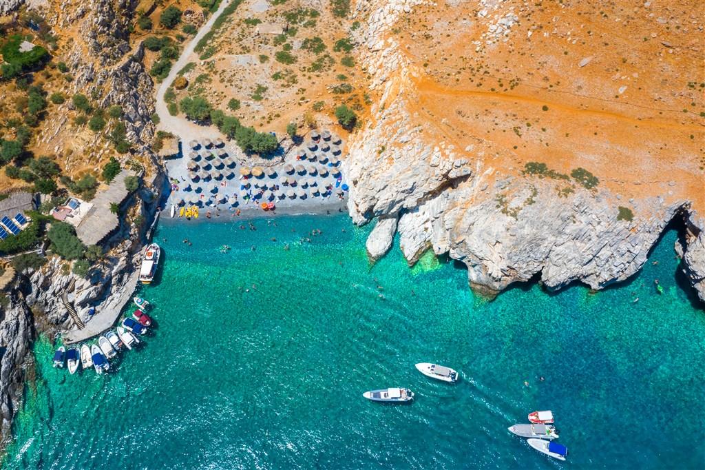 ŘECKO - soutěsky a moře Kréty 289141