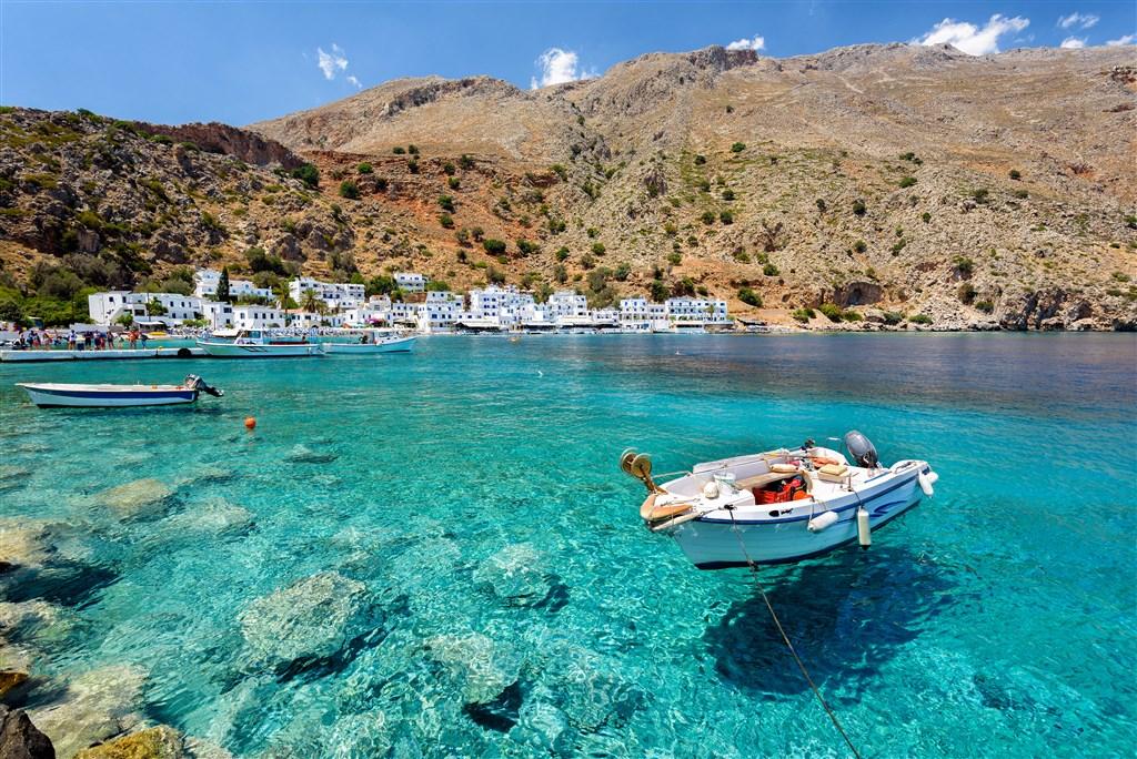 ŘECKO - soutěsky a moře Kréty 289142