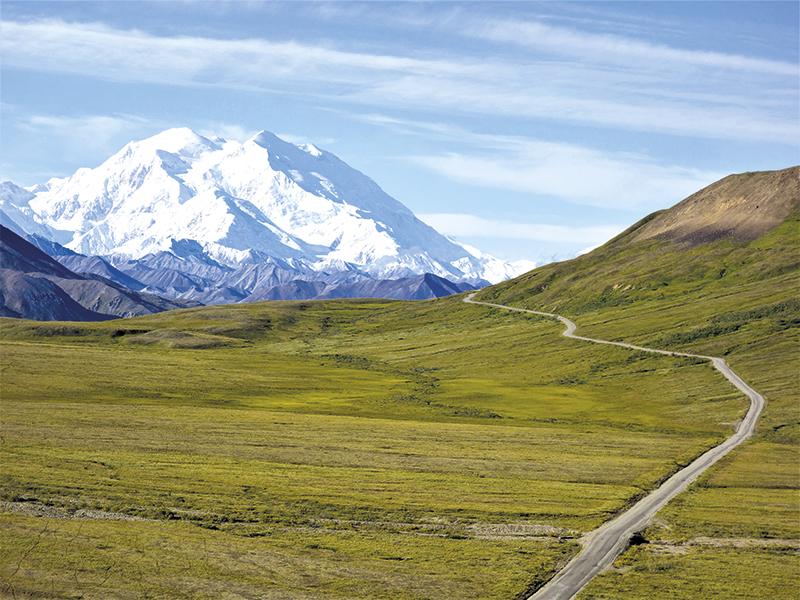 Denali, nejvyšší hora Severní Ameriky