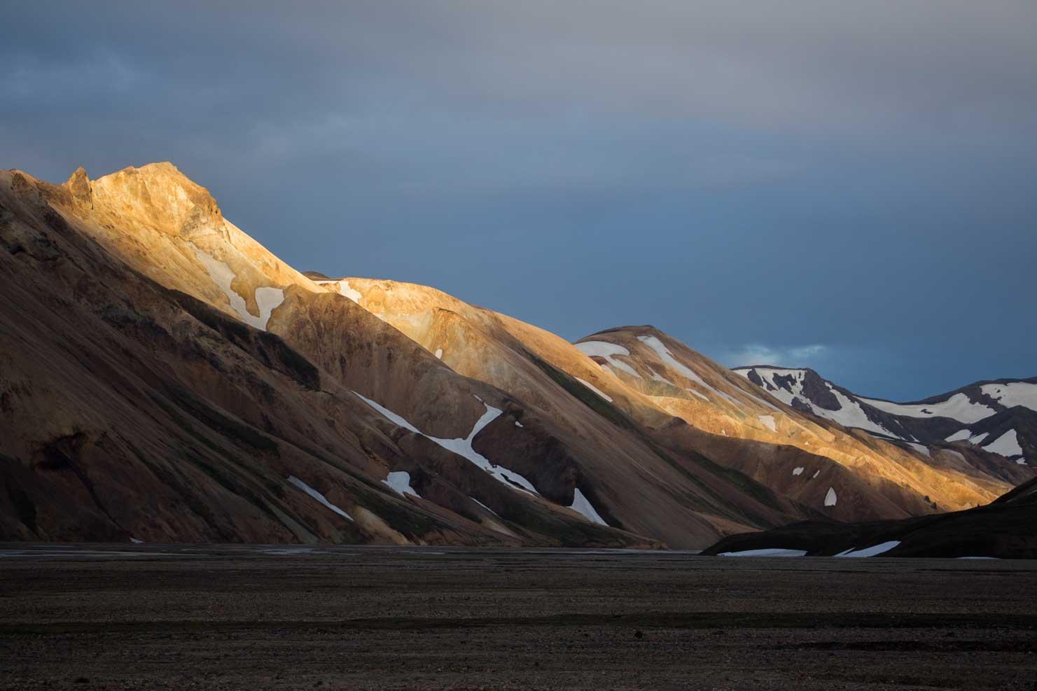 Landmannalaugar- Duhové hory