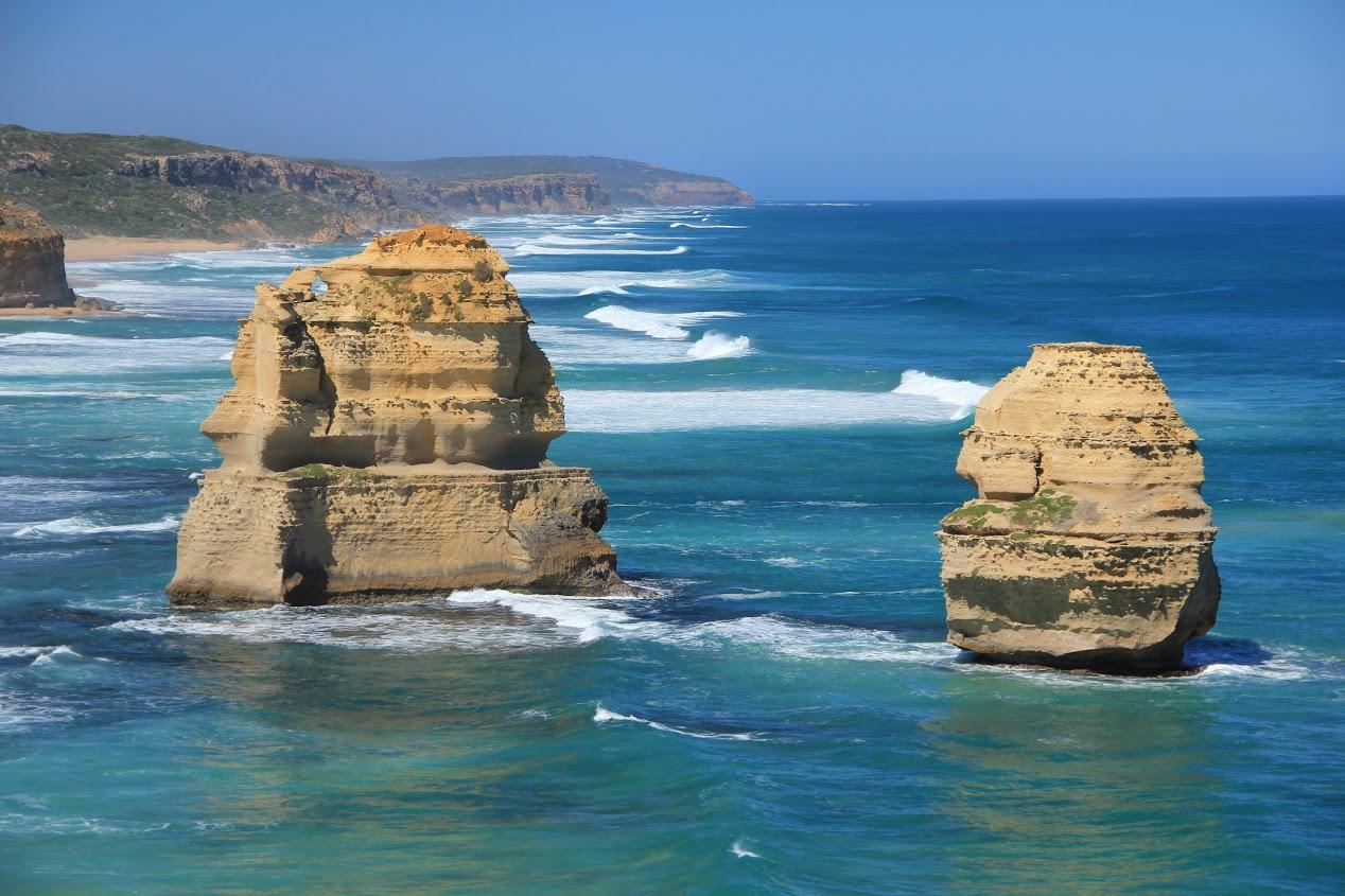 Dvanáct Apoštolů, jižní pobřeží Austrálie