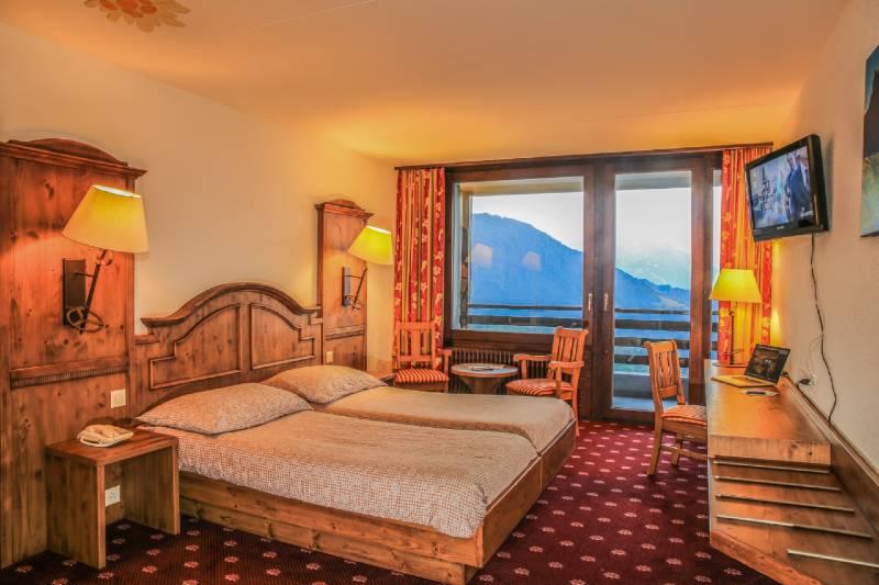 Dvoulůžkový pokoj - ilustrační foto, pokoje se mohou lišit.